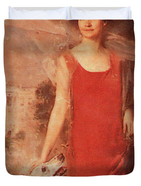Grace Coolidge Duvet Cover