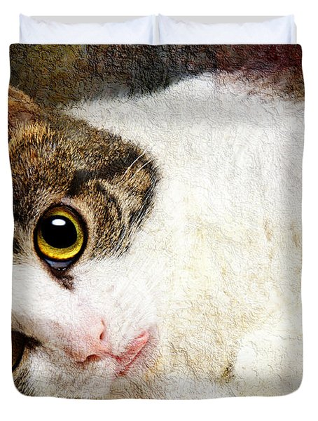 Grammy Said I Could Duvet Cover by Andee Design