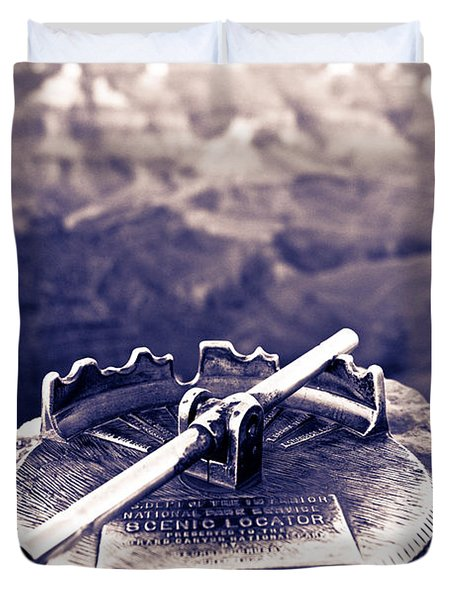 Grand Canyon - Sight Tube Duvet Cover by Scott Sawyer
