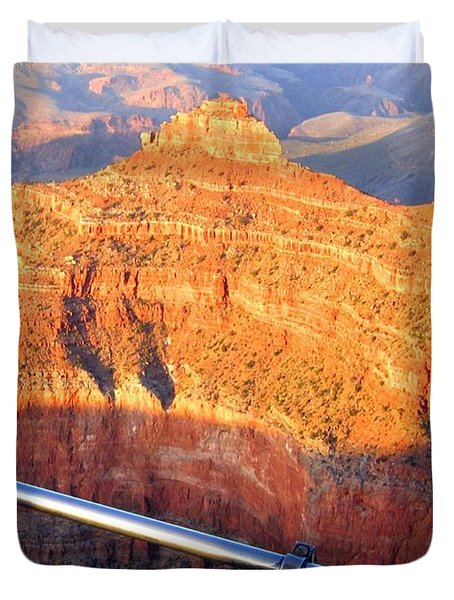 Grand Canyon 43 Duvet Cover by Will Borden