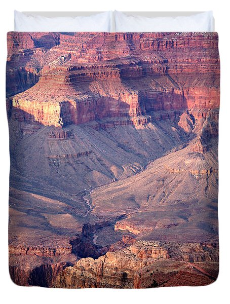 Grand Canyon Evening Interior Duvet Cover by Michael Kirsh