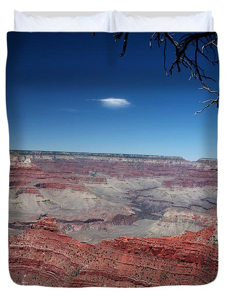 Duvet Cover featuring the photograph Grand Canyon Number Three by Lon Casler Bixby