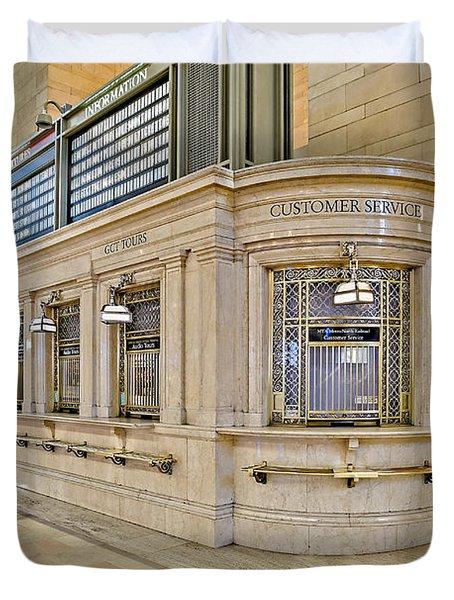 Grand Central Terminal Duvet Cover by Susan Candelario