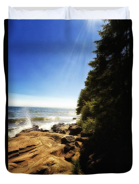Grand Marais Minnesota 2 Duvet Cover