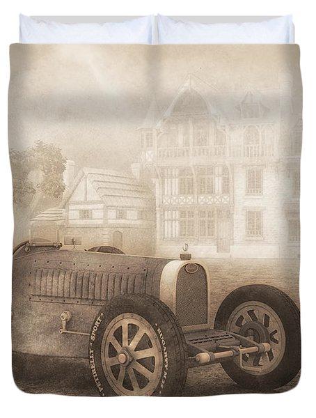 Grand Prix Racing Car 1926 Duvet Cover by Jutta Maria Pusl