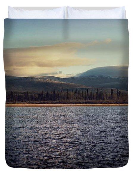 Gravel Lake Duvet Cover by Priska Wettstein