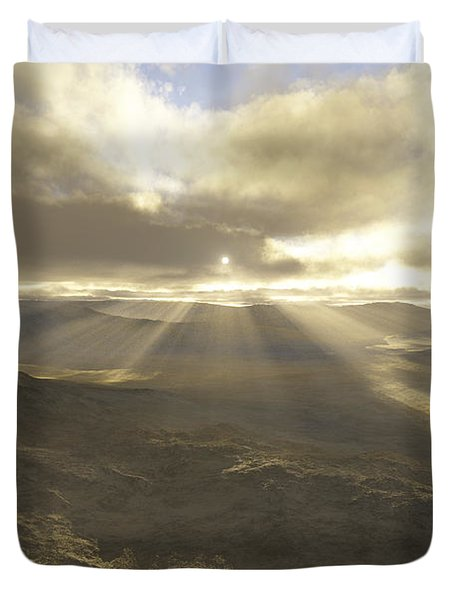 Great Valley Duvet Cover by Mark Greenberg