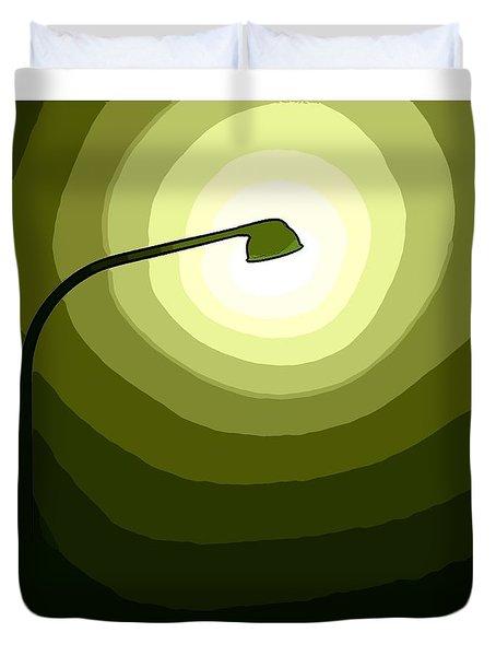 Green Is Hope Duvet Cover
