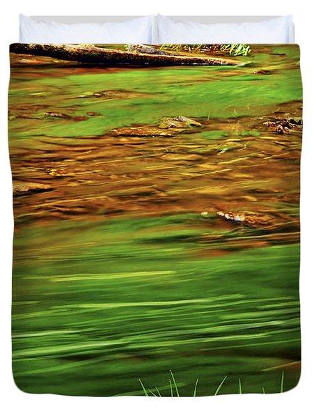 Green River Duvet Cover by Elena Elisseeva