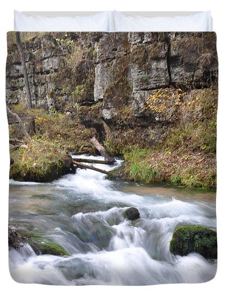 Greer Spring Fall 1 Duvet Cover by Marty Koch