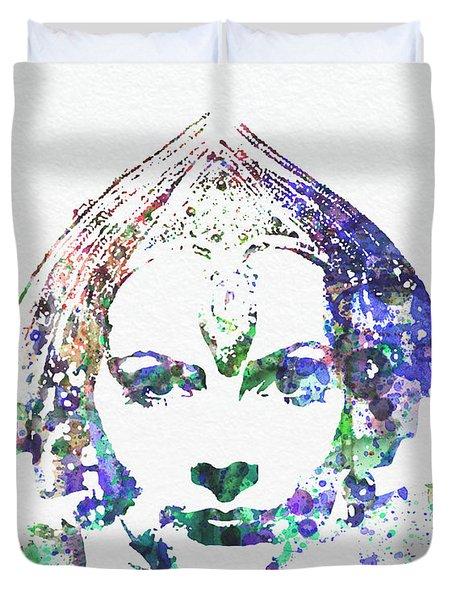 Greta Garbo Duvet Cover by Naxart Studio