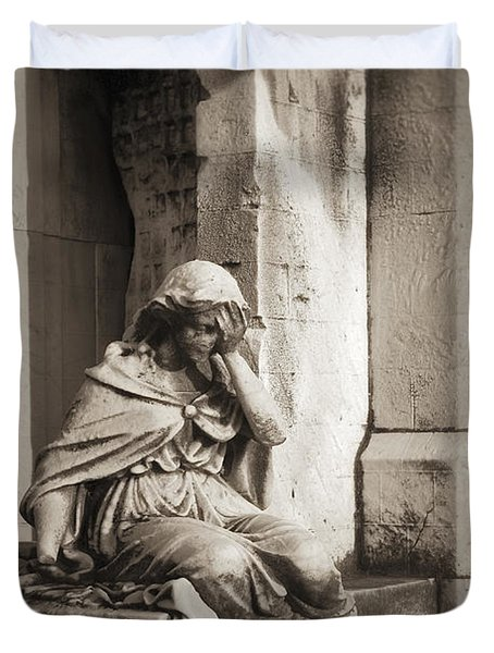Grief Duvet Cover by John Greim