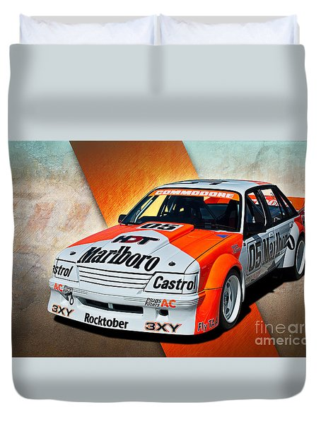 Group C Vk Commodore Duvet Cover by Stuart Row