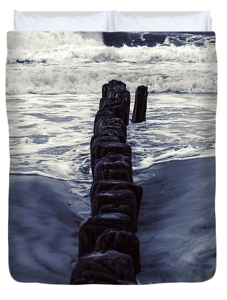 Groyne Duvet Cover by Joana Kruse