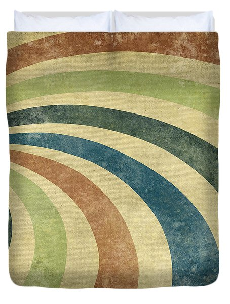 grunge Rays background Duvet Cover by Setsiri Silapasuwanchai