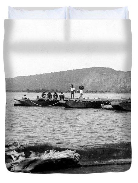 Guanica Harbor - San Juan - Puerto Rico - C 1899 Duvet Cover by International  Images