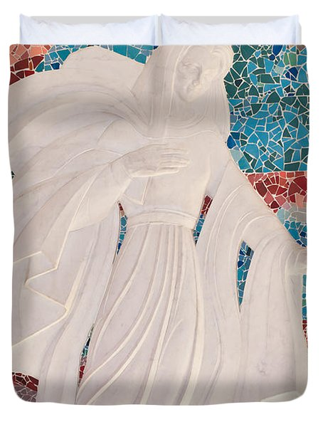 Guardian Angel Duvet Cover