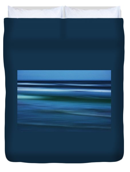 Gulf Of Mexico Duvet Cover by Marilyn Hunt