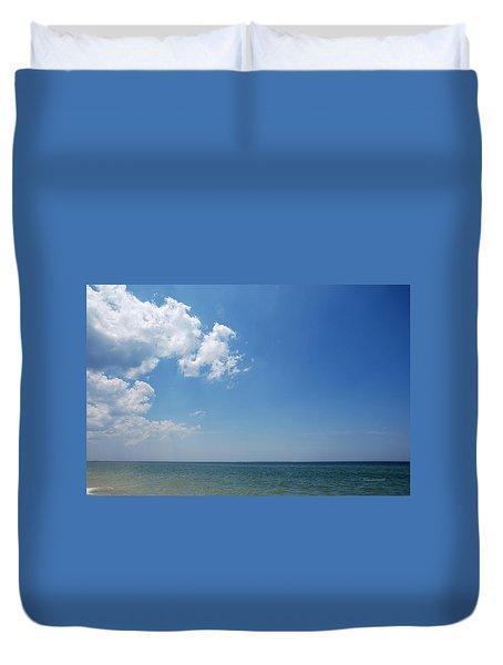 Gulf Sky Duvet Cover