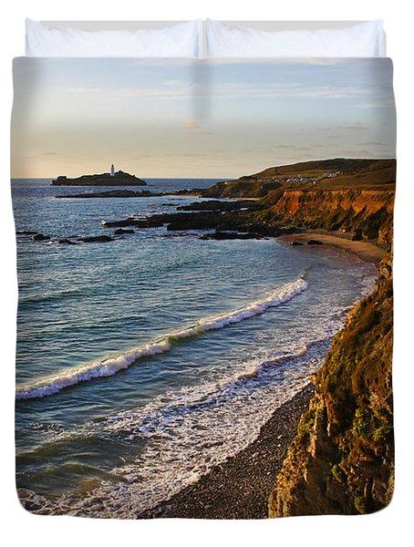 Gwithian Beach Duvet Cover by Ken Brannen