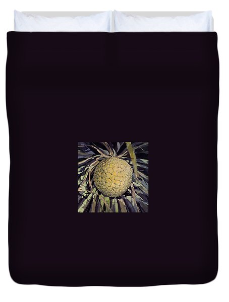 Hala Fruit Duvet Cover by Andrew Drozdowicz