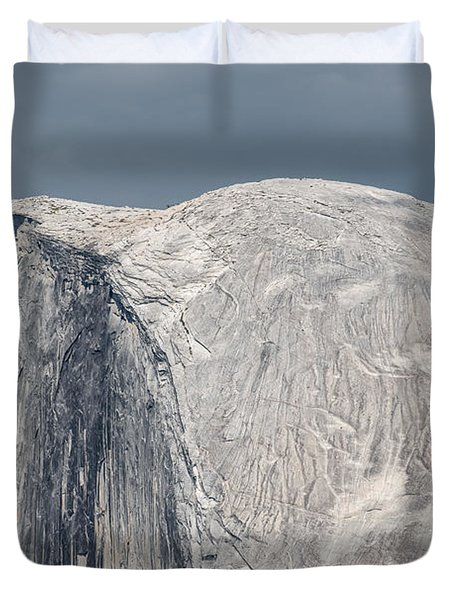 Half Dome From Glacier Point At Yosemite Np Duvet Cover