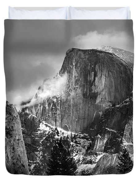 Half Dome Duvet Cover by Jeff Grabert