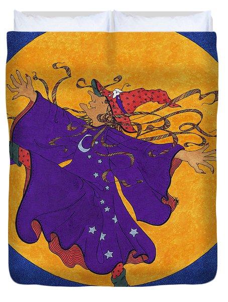 Halloween Dance Duvet Cover