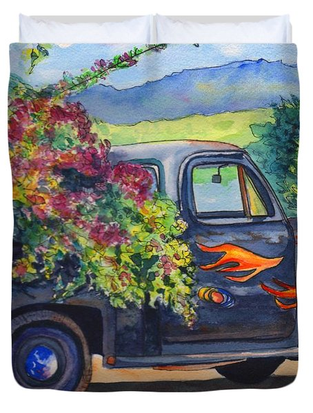 Hanapepe Truck Duvet Cover