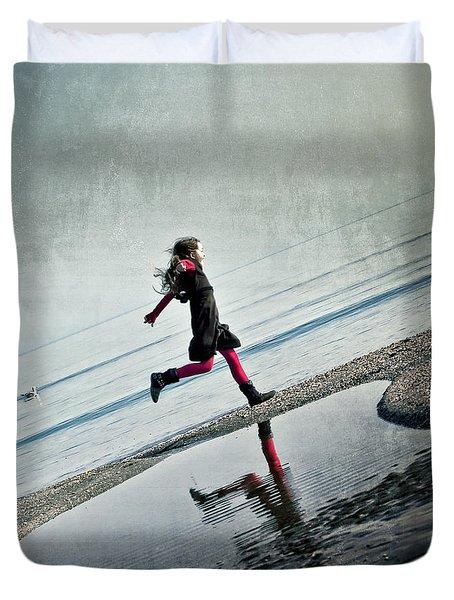 Hapiness Duvet Cover by Joana Kruse