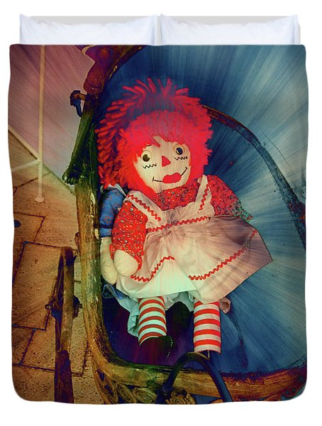 Happy Dolly Duvet Cover by Susanne Van Hulst