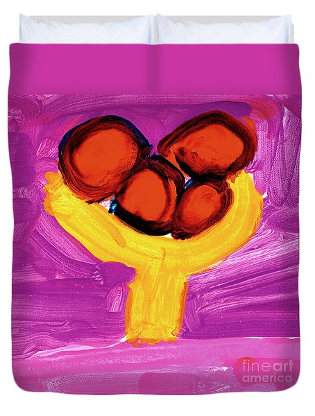 Happy Fruit Duvet Cover