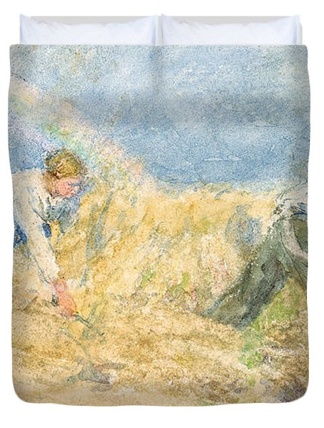 Harvester Duvet Cover by LP Smythe