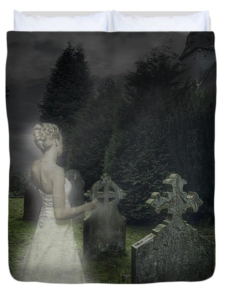 Haunting Duvet Cover by Amanda Elwell