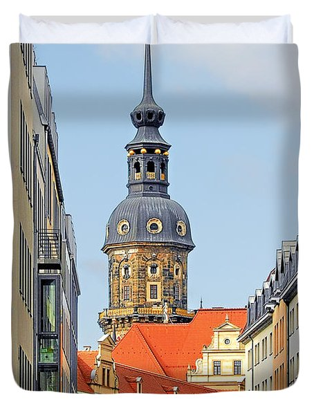 Hausmannsturm - Lookout Of A Castle With Stunning Views Duvet Cover by Christine Till