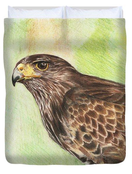 Hawk Duvet Cover