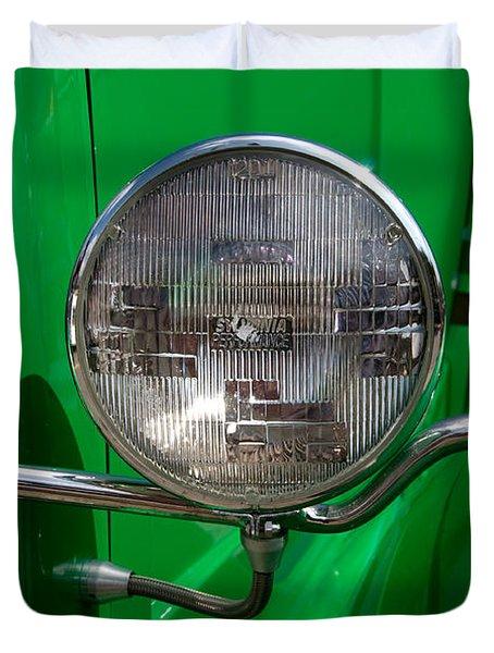 Headlight Duvet Cover by Vivian Christopher