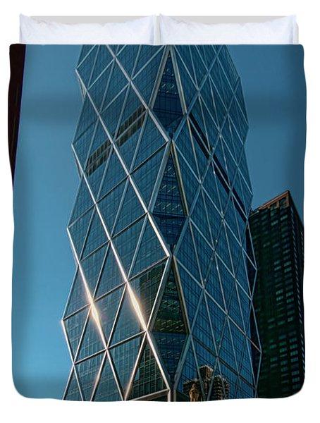 Hearst Building Duvet Cover