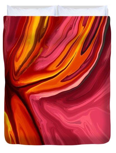 Heartache Duvet Cover by Chris Butler