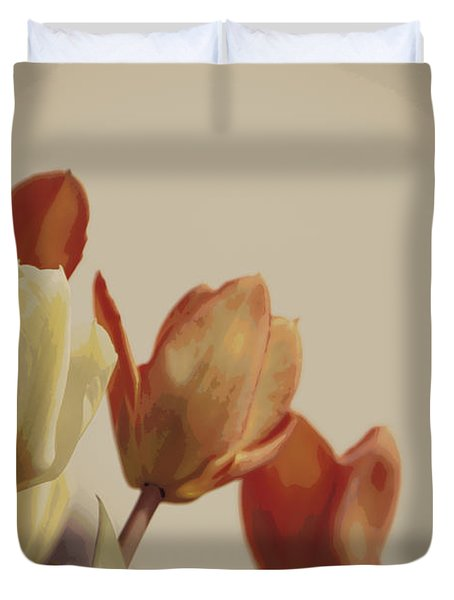 Duvet Cover featuring the photograph Heavenly Glow by Marilyn Wilson