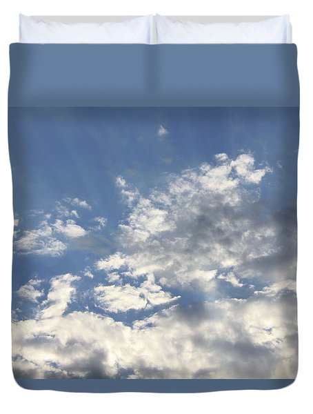 Heavenly Duvet Cover by Inspired Arts