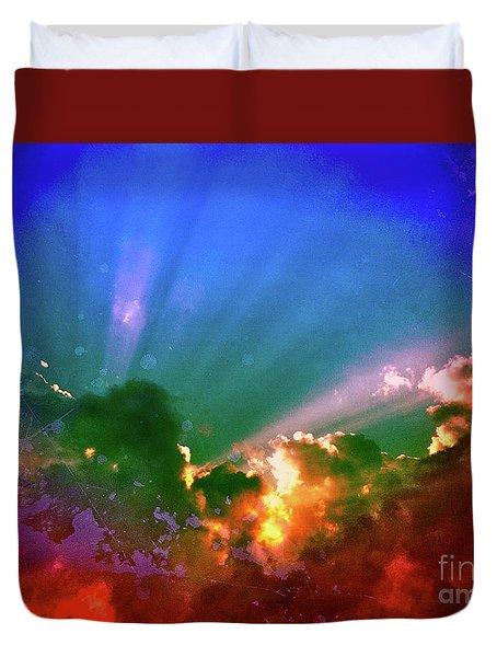 Heaven's Jewels Duvet Cover by Kevyn Bashore