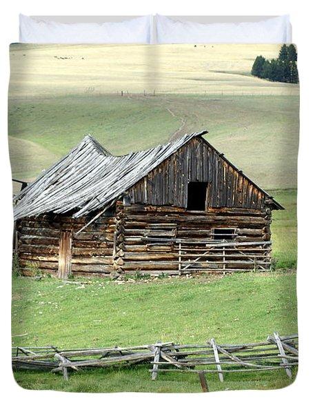 Helena Ranch Duvet Cover by Marty Koch
