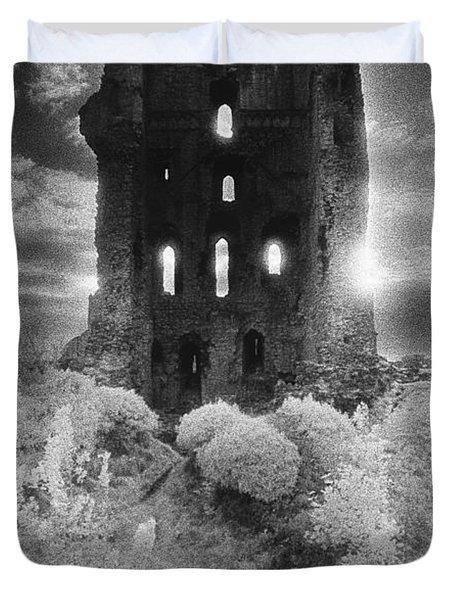 Helmsley Castle Duvet Cover by Simon Marsden
