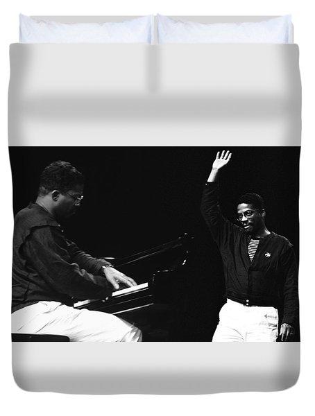 Herbie Hancock Duvet Cover