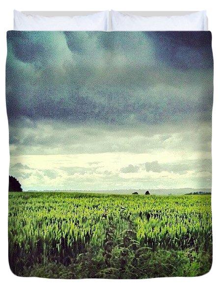 Here Comes The Rain......again Duvet Cover