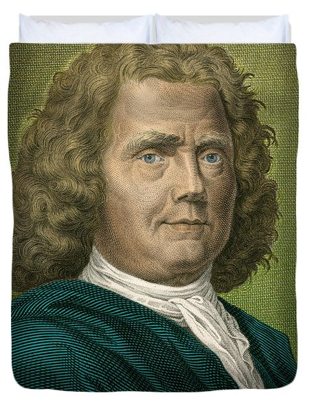 Herman Boerhaave, Dutch Physician Duvet Cover by Science Source