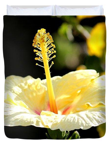 Hibiscus Rising Duvet Cover