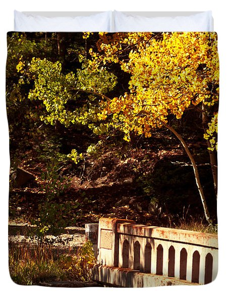 Hidden Bridge Duvet Cover