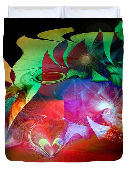 High Hopes Duvet Cover by Linda Sannuti